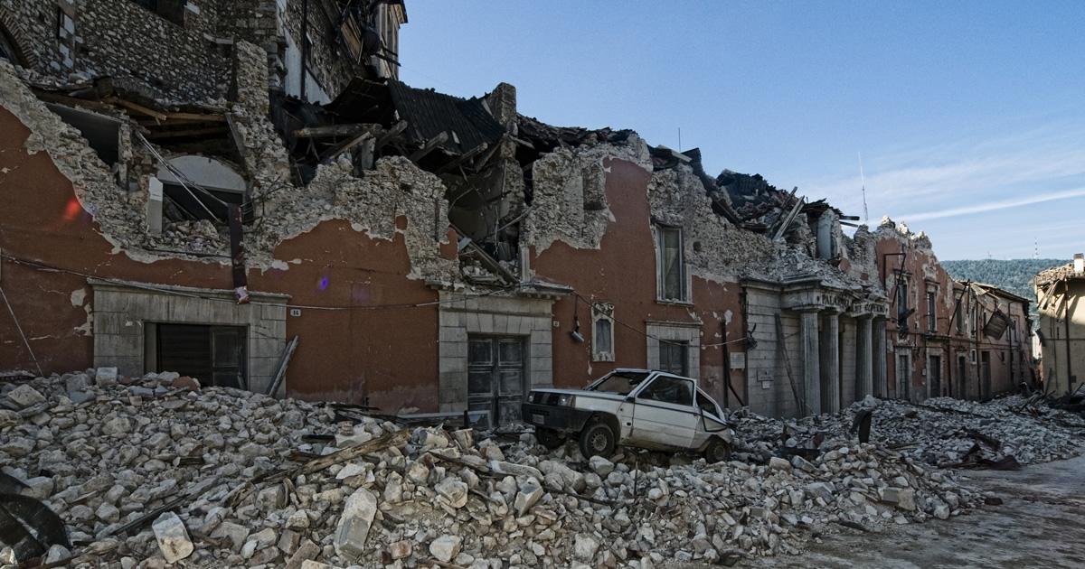 Ania: In Italia quasi 8 abitazioni su 10 a rischio alto tra terremoto e alluvione