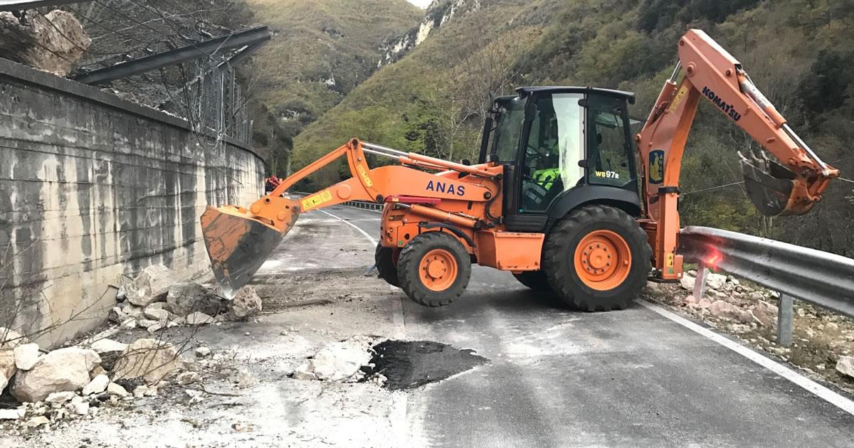 Terremoto Centro Italia, al via le gare ANAS per i lavori di ripristino delle strade danneggiate