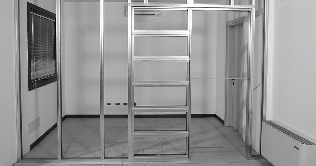 Porta Scorrevole In Parete Di Cartongesso : La versatilità dei controtelai per le pareti in cartongesso