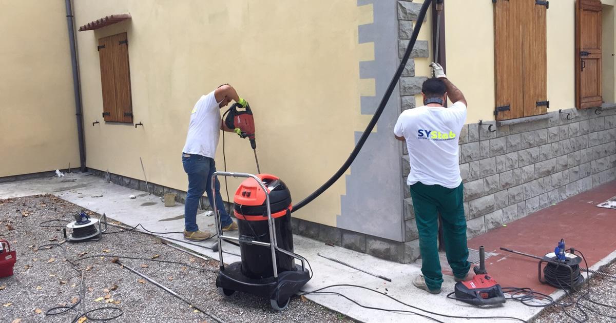 Tecnologie i migliori articoli tecnici per i for Resina per crepe nei muri