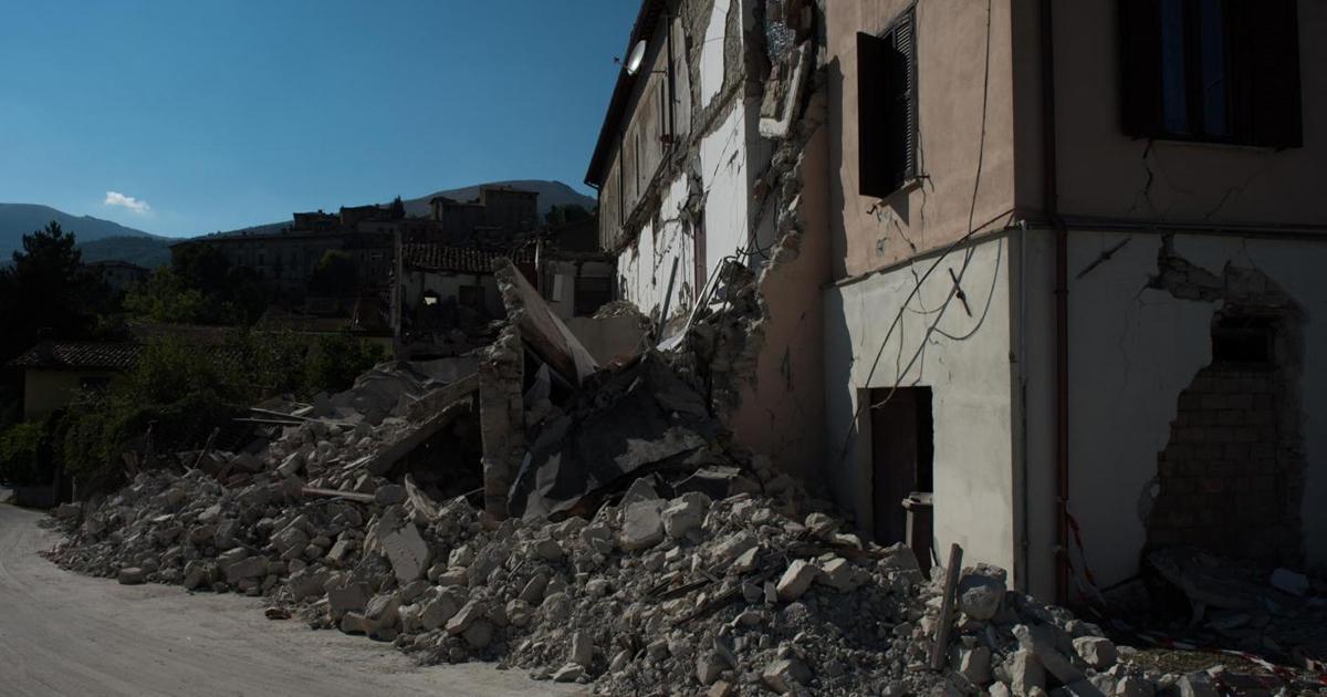 Terremoto Centro Italia: 21.829 schede Aedes compilate al 10 ottobre 2016