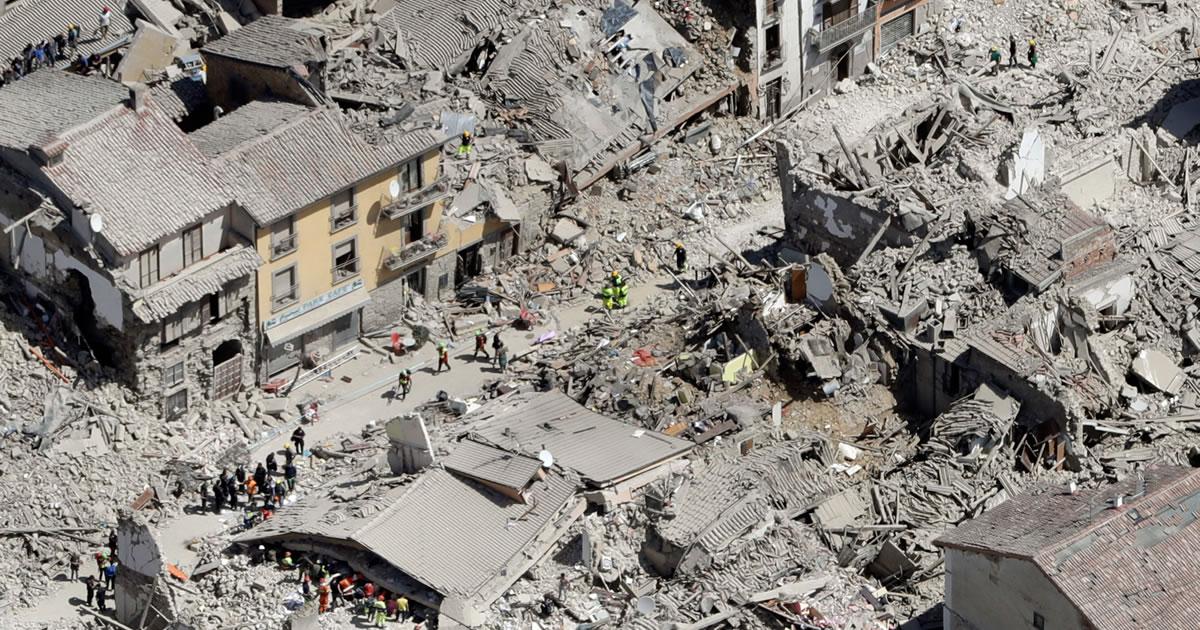 Prime riflessioni sul terremoto che ha colpito il Lazio, le Marche e l'Umbria
