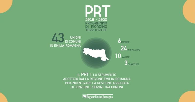 Dalla Regione Emilia Romagna oltre 17 milioni di euro per le Unioni di Comuni