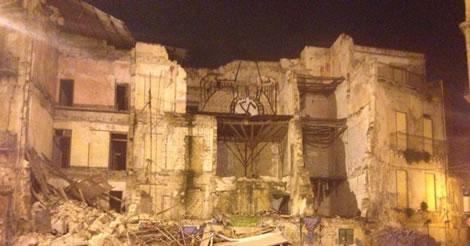 Allarme a Palermo: il rischio crolli preoccupa i tecnici