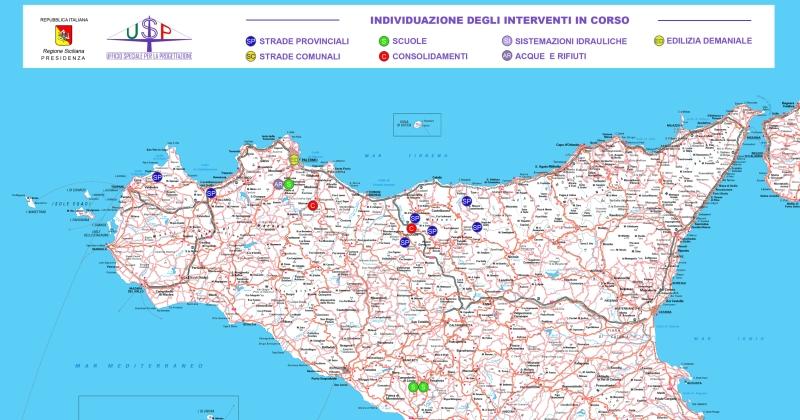 Regione siciliana: Le prime convenzioni per l'ufficio speciale per la progettazione