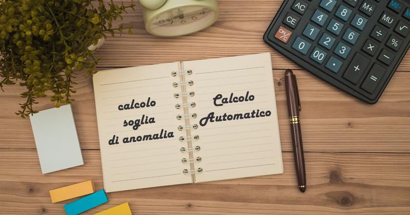 Codice dei contratti e Sblocca Cantieri: Il calcolo automatico delle nuove soglie di anomalia 2019