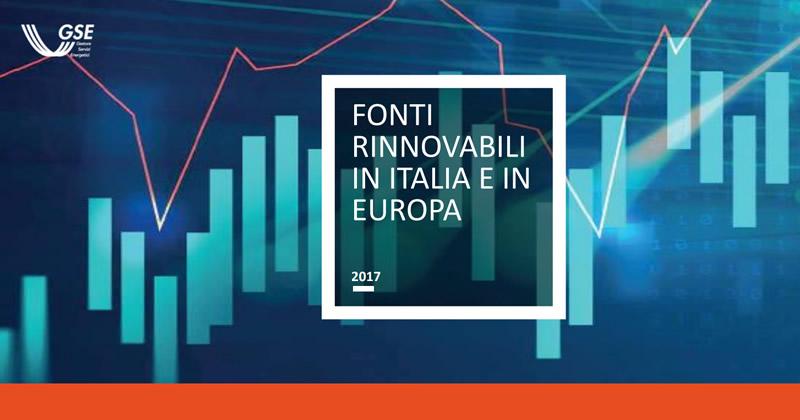Rinnovabili, dal GSE un'analisi sulla diffusione delle FER a livello regionale, nazionale ed europeo