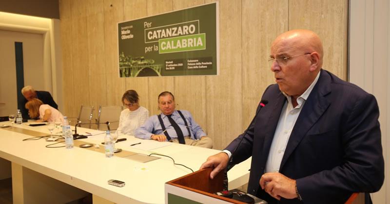 Regione Calabria: circa 700 milioni di euro investiti su Catanzaro
