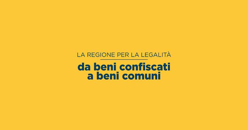 Regione Lazio: 1 milione di euro per il recupero dei beni confiscati